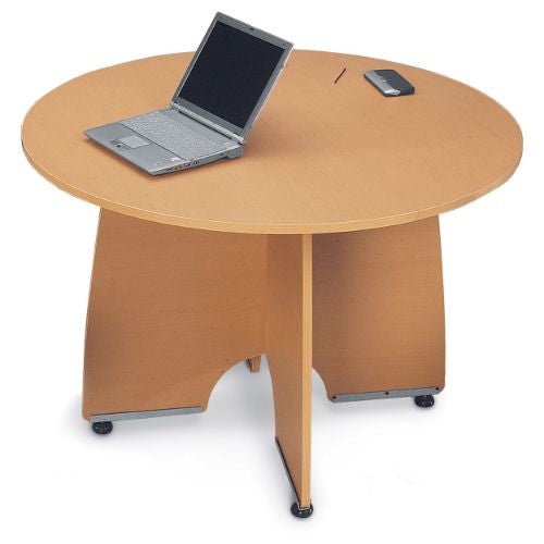 "OFM 43"" Round Meeting Table ; UPC: 811588015665"