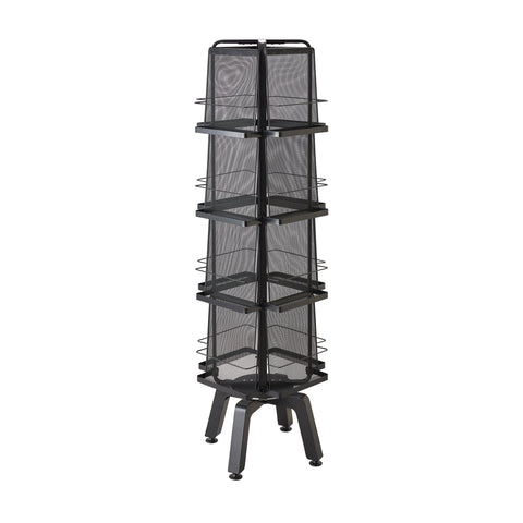 Safco Products Onyx Rotating Magazine Rack - 16 Pocket 5580BL(Image 1)