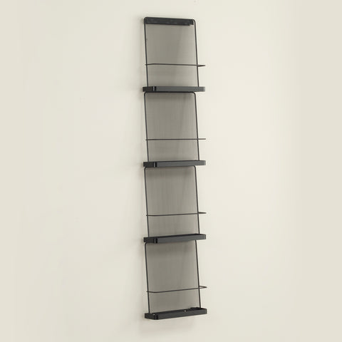 Safco Products Onyx™ Wall Mounted Organizer - Four Pocket 5592BL Image 1