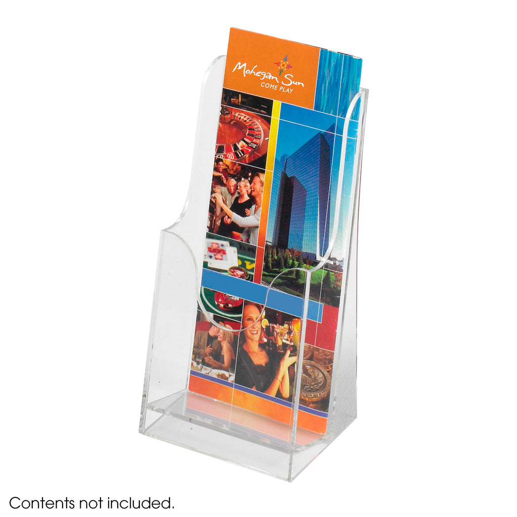 Safco Products Acrylic Single Pocket Pamphlet Display (Qty. 6) 5637CL Image 1