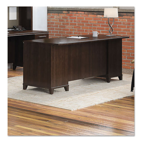 Bush Enterprise 72W Double Pedestal Desk Box 2 of 2 BSH2972MCA203, Cherry (UPC:042976297213) ; Image 2