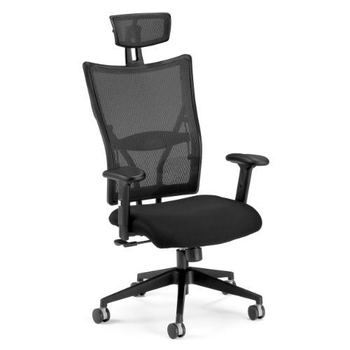 OFM Talisto Series Executive High-Back Fabric & Mesh Chair; UPC:811588010301