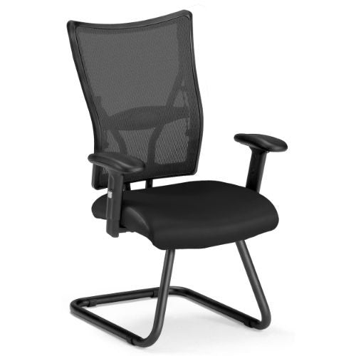 OFM Talisto Series Executive Mid-Back Leather & Mesh Guest Chair ; UPC: 811588010516
