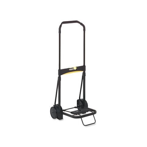 Kantek Ultra-Lite Folding Cart KTKLGLC200, Black (UPC:750333712001)