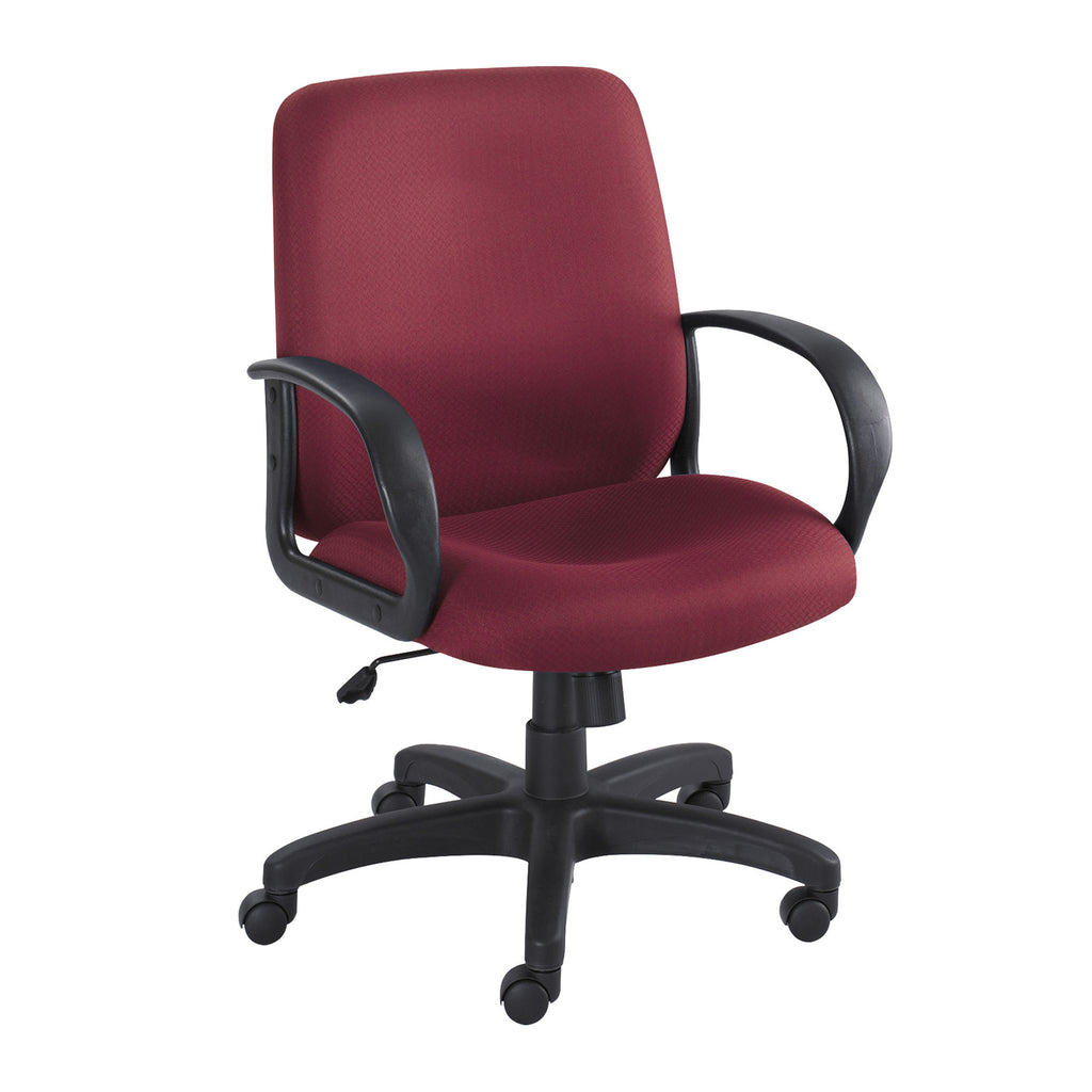 Safco Poise Collection Executive Mid-Back Chair SAF6301BG,  (UPC:0073555630114)