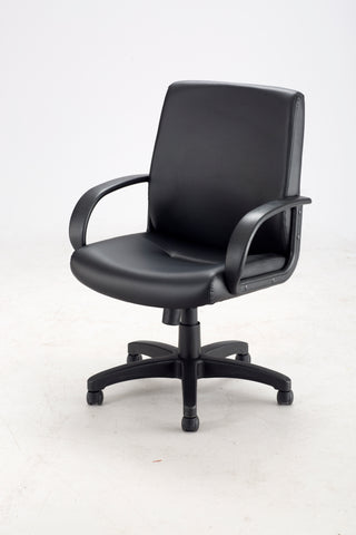 Safco Products Poise Executive Mid Back Seating 6301BV Image 4