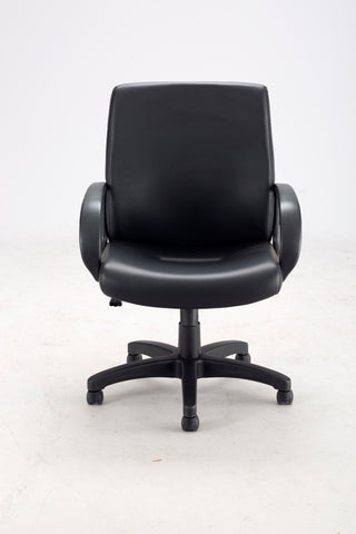 Safco Products Poise Executive Mid Back Seating 6301BV Image 3