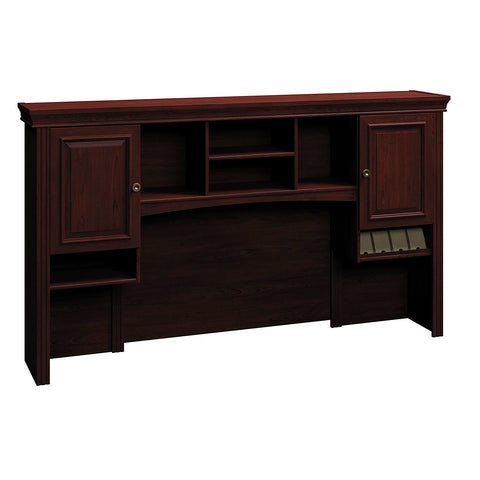 Bush Business Furniture Syndicate Collection Harvest Cherry 72W Hutch in Harvest Cherry ; UPC: 042976609658 ; Image 1