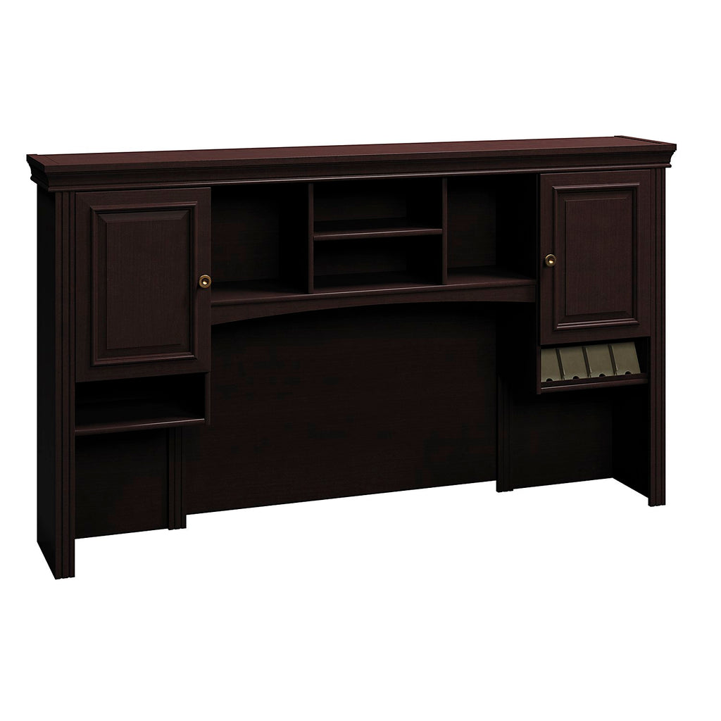 Bush Business Furniture Syndicate Collection 72W Hutch in Mocha Cherry ; UPC: 042976609665 ; Image 1