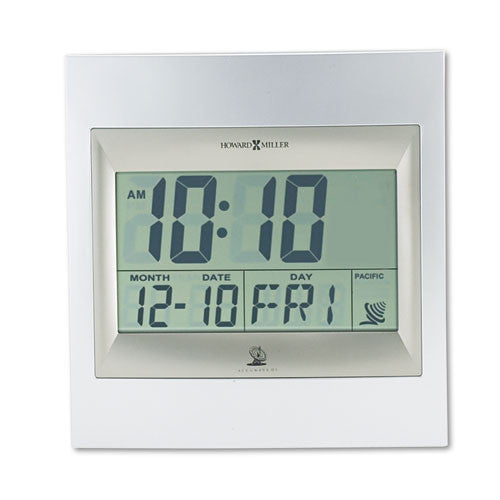 Howard Miller Radio Control LCD Alarm Clock ; (020867252367)