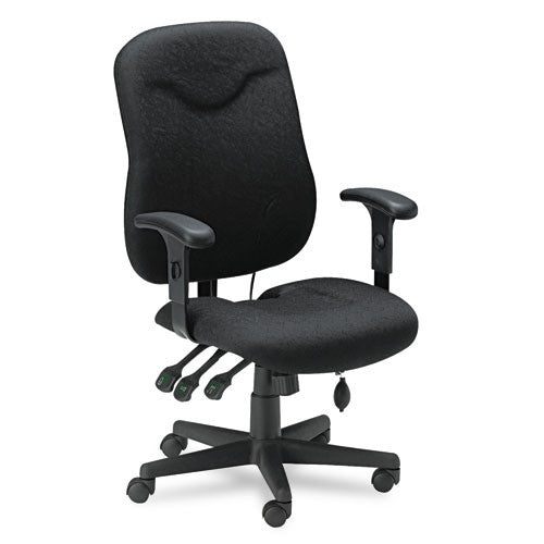 Mayline Comfort 9414AG Posture Executive Chair MLN9414AG2113, Black (UPC:760771882754)