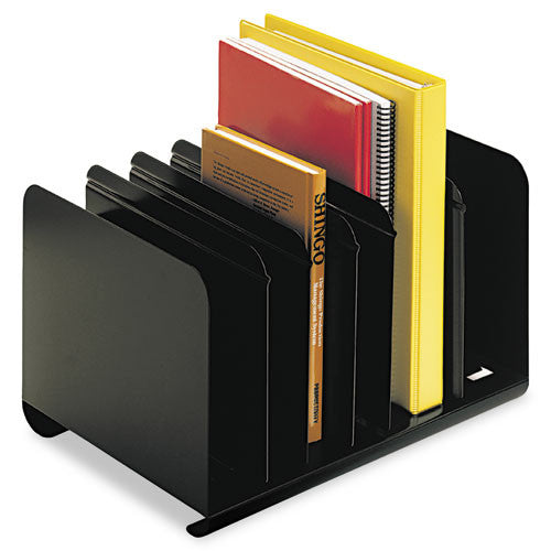 MMF Adjustable Steel Book Rack MMF26413BRBLA, Black (UPC:078973013020)