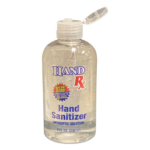 GEN  Hand Rx Sanitizer, 8 oz Bottle, Unscented, 12/Carton GN1BCLRXSANI8OZ