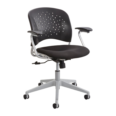 Safco Products Reve Task Chair Round Back 6803BL(Image 1)