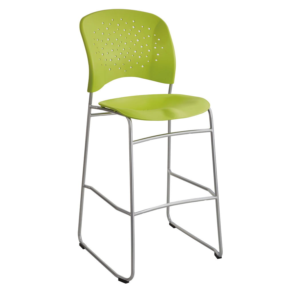 Safco Products Reve™ Bistro-Height Chair Round Back 6806GN Image 1