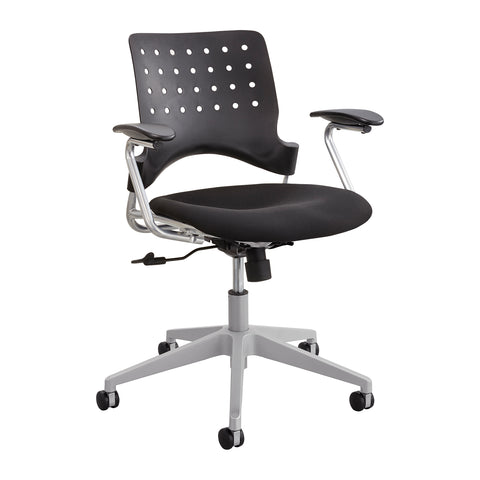Safco Products Reve Task Chair Square Back 6807BL(Image 1)