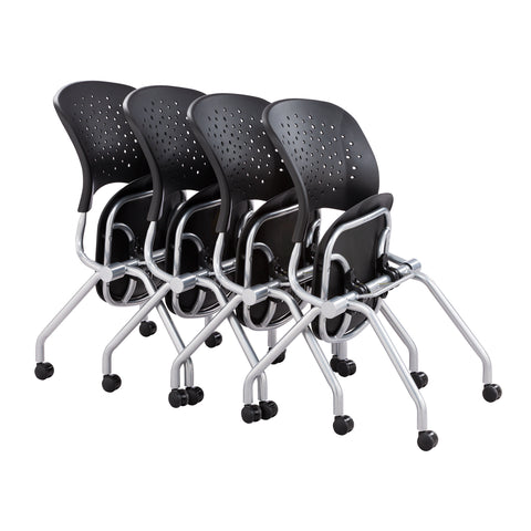 Safco Products Reve™ Nesting Chair 6808BLP Image 7
