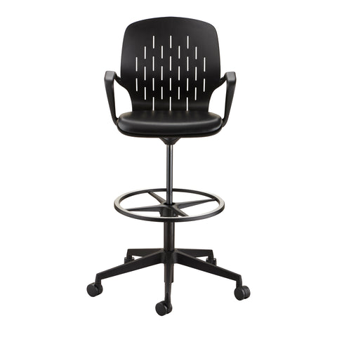 Safco Products Shell™ Extended-Height Chair 7014BL Image 3
