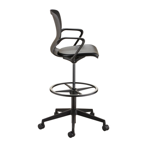 Safco Products Shell™ Extended-Height Chair 7014BL Image 2