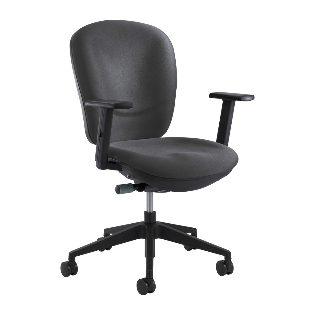 Safco Rae Ergonomic Task Chair SAF7205CH, Black (UPC:0073555720532)