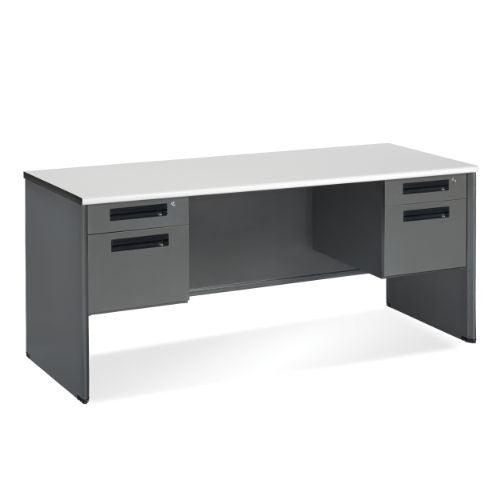 "OFM Executive Series Double Pedestal Panel End Credenza 26.50"" x 67"" ; UPC: 845123009727"
