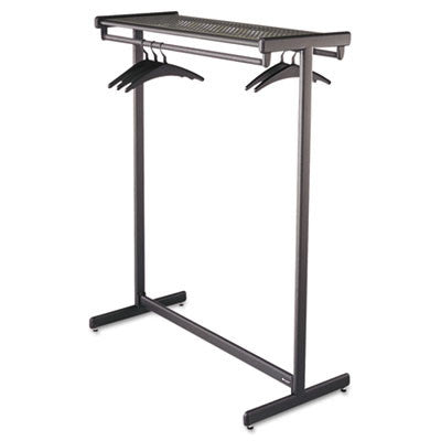 Quartet Double-Sided Garment Rack ; (034138203149); Color:Black