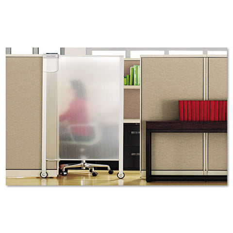 ACCO Workstation Privacy Screen QRTWPS2000, Clear (UPC:034138038611)