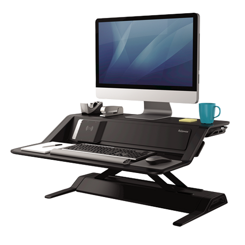 fellowes-lotus-dx-sit-stand-workstation-fel8080301 ; UPC 043859728152