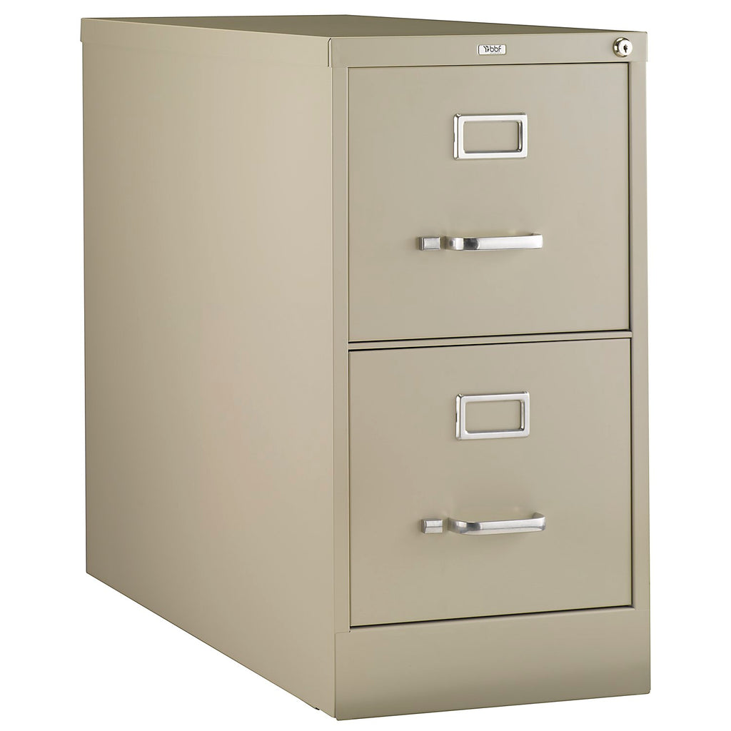 Bush Business Furniture Synchronize 1000 Collection 2-Drawer Vertical Metal File in Putty ; UPC: 042976502706 ; Image 1