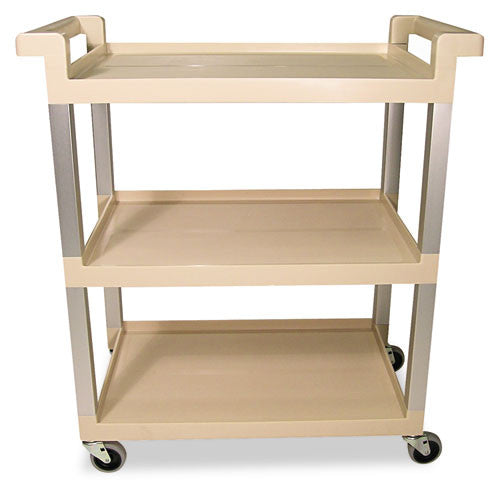 Rubbermaid Swivel Casters Utility Cart RCP9T6571BG, Beige (UPC:086876173802)