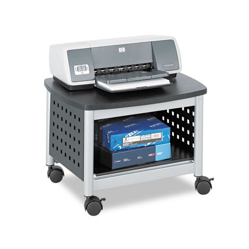 Safco Scoot Underdesk Printer Stand SAF1855BL, Black (UPC:073555185522)