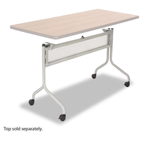 Safco Impromptu Table Base SAF2030SL, Silver (UPC:073555203011)