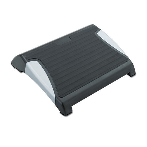 Safco RestEase Footrest SAF2120BL, Black (UPC:073555212020)