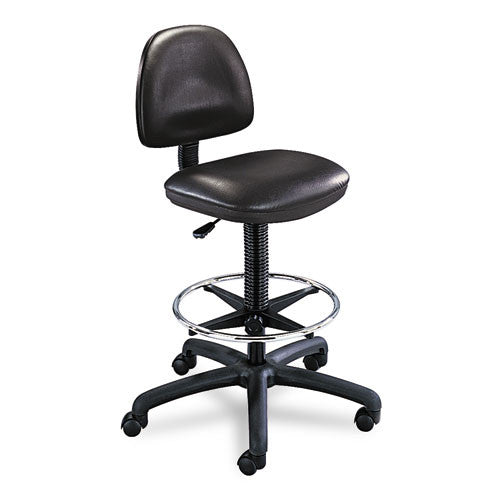 Safco Precision Extended Height Drafting Chair SAF3406BL, Black (UPC:073555340624)