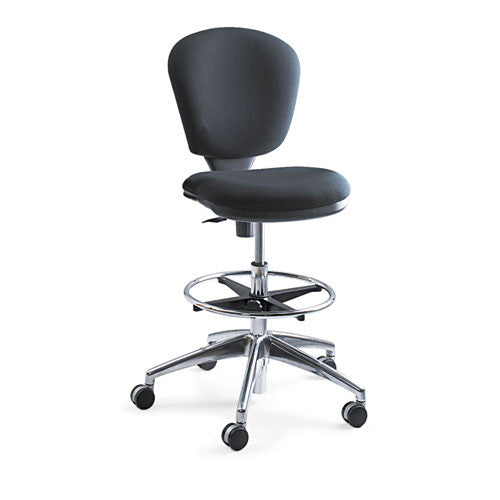 Safco Metro Extended Height Chair SAF3442BL, Black (UPC:073555344226)
