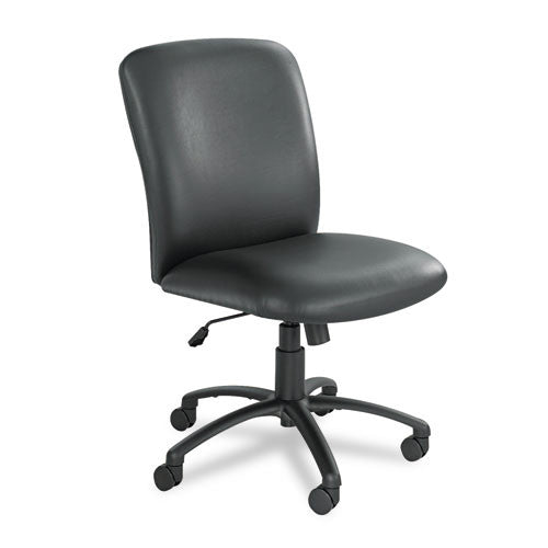 Safco Uber Big and Tall High Back Executive Chair SAF3490BV, Black (UPC:073555349047)