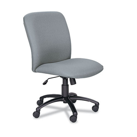 Safco Big & Tall Executive High-Back Chair SAF3490GR, Gray (UPC:073555349030)