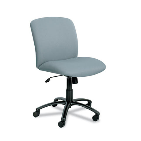 Safco Big & Tall Executive Mid-Back Chair SAF3491GR, Gray (UPC:073555349139)