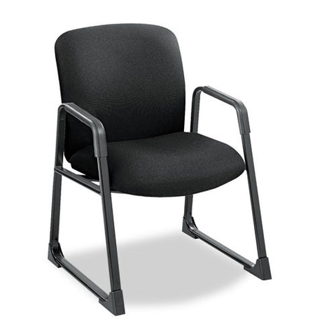 Safco Big & Tall Guest Chair SAF3492BL, Black (UPC:073555349221)