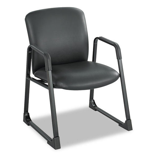 Safco Uber Big and Tall Guest Chair SAF3492BV, Black (UPC:073555349245)