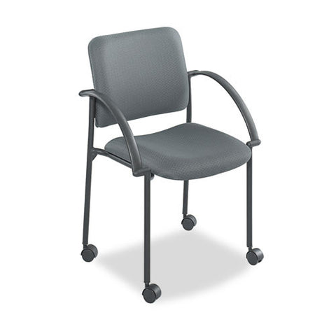 Safco Moto Stack Chair SAF4184CH, Gray (UPC:073555418446)