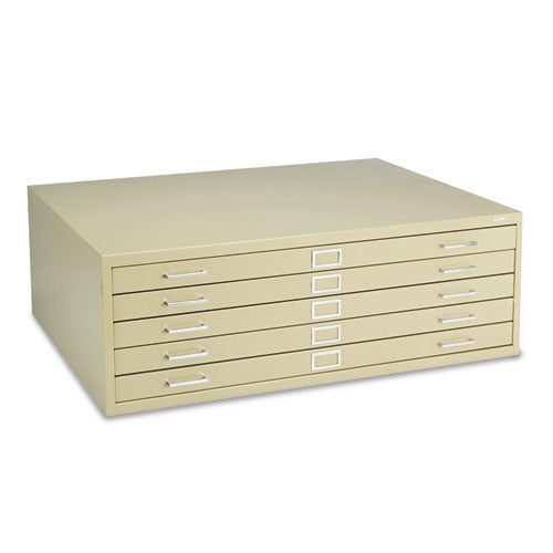 Safco 5-Drawer Steel Flat File SAF4996TSR,  (UPC:073555499667)