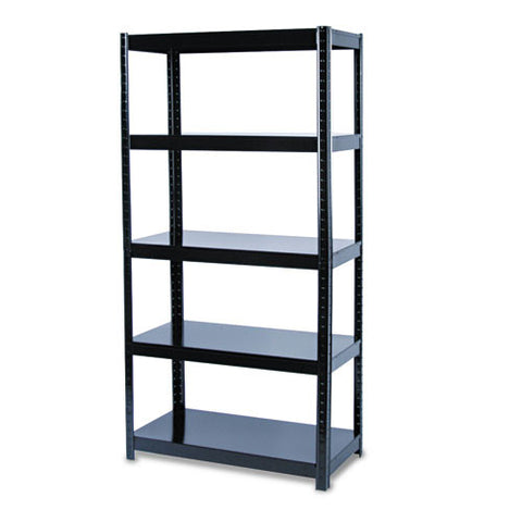 Safco Boltless Steel Shelving SAF5245BL, Black (UPC:073555524529)