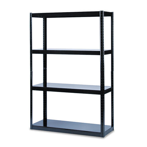 Safco Boltless Steel Shelving SAF5246BL, Black (UPC:073555524628)