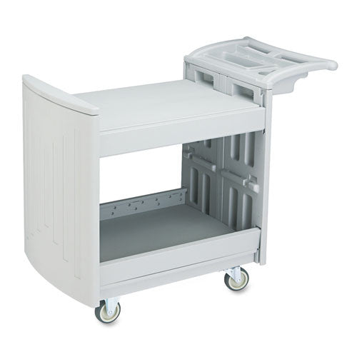 Safco Two-Shelf Utility Cart SAF5330GR, Gray (UPC:073555533033)