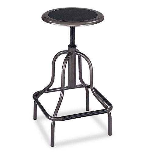 Safco Diesel High Base Stool SAF6665, Gray (UPC:073555666502)