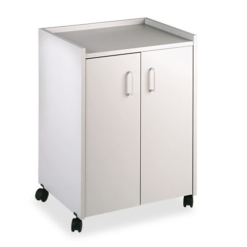 Safco Mobile Refreshment Utility Cart SAF8953GR, Gray (UPC:073555895339)