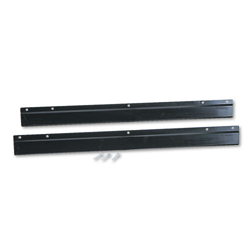 Safco E-Z Stor Steel Project Centers, Wall Mount Brackets SAF9200BL, Black (UPC:073555920024)