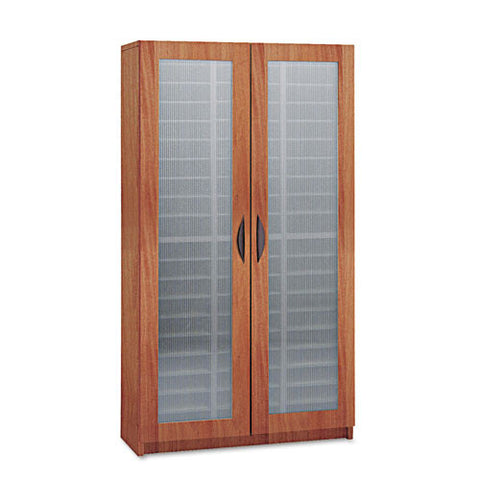 Safco Frosted Door Literature Organizer SAF9355CY, Cherry (UPC:073555935547)