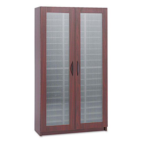 Safco Frosted Door Literature Organizer SAF9355MH, Mahogany (UPC:073555935523)